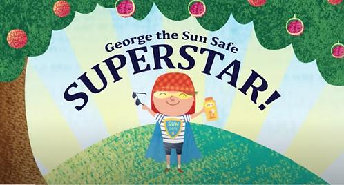 George the Sun Safe Superstar!