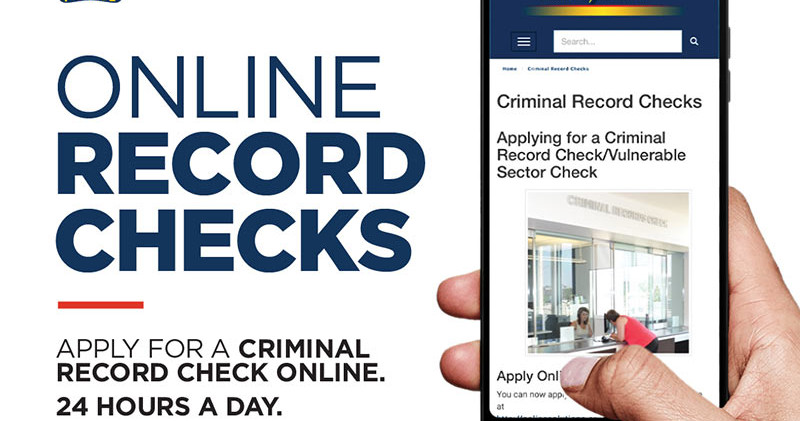 Saskatoon Police_Online Record Check Gra
