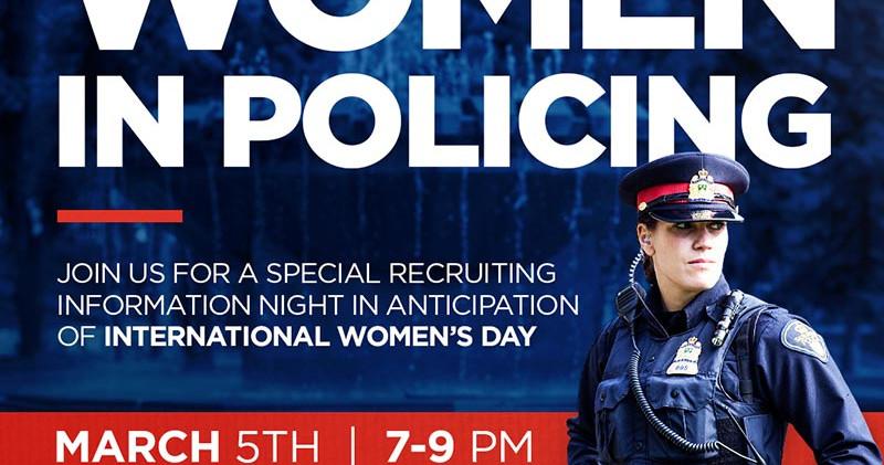 Saskatoon Police_Women In Policing Graph