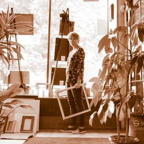 Re-Framing Relationships. Meet Mary Ann, owner of MSC Custom Picture Framing.