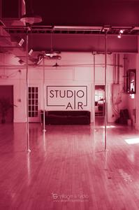 Empty Studio Air, aerial studio in Montclair NJ by Village Studio