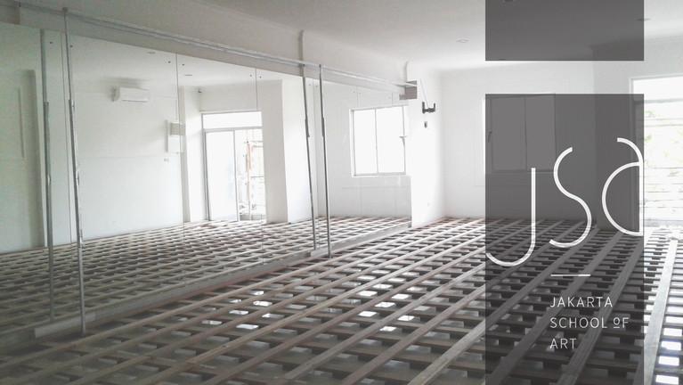 Sprung Floor Structure
