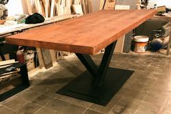 Mesa de diseño vintage rustica