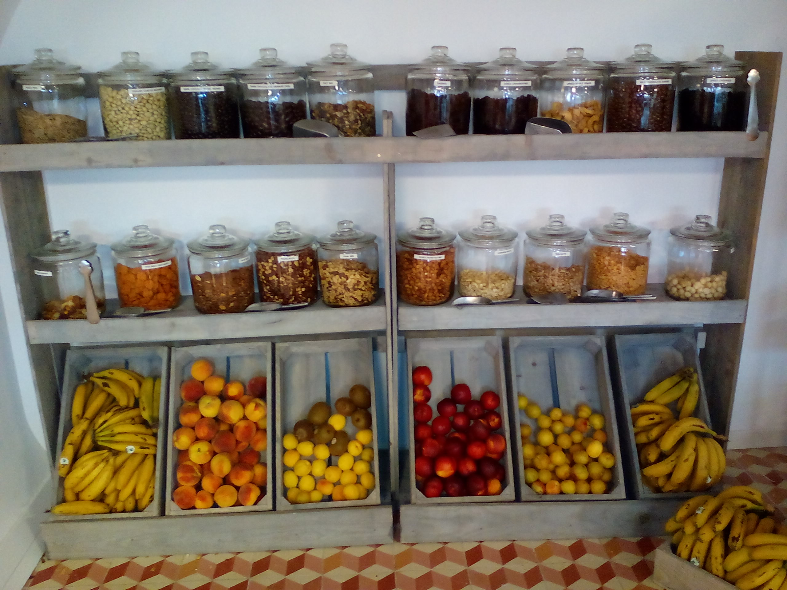 Estantería frutas para oficinas