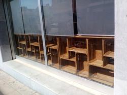 Mostrador exterior cafetería