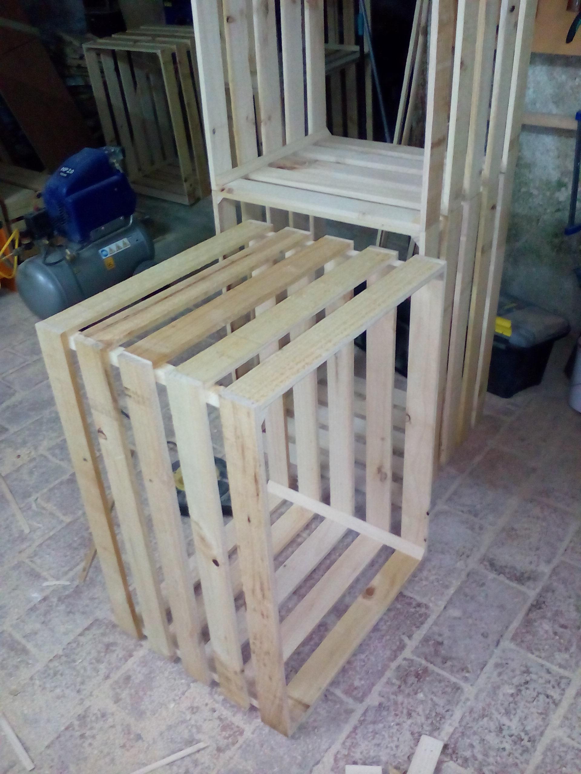 Cajas madera grandes a medida