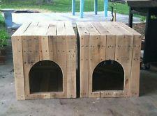 Casa doble para perros