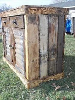 Cobertizo madera rústica