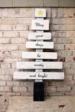 Árbol Navidad con mensaje