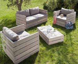 Sofas garden White