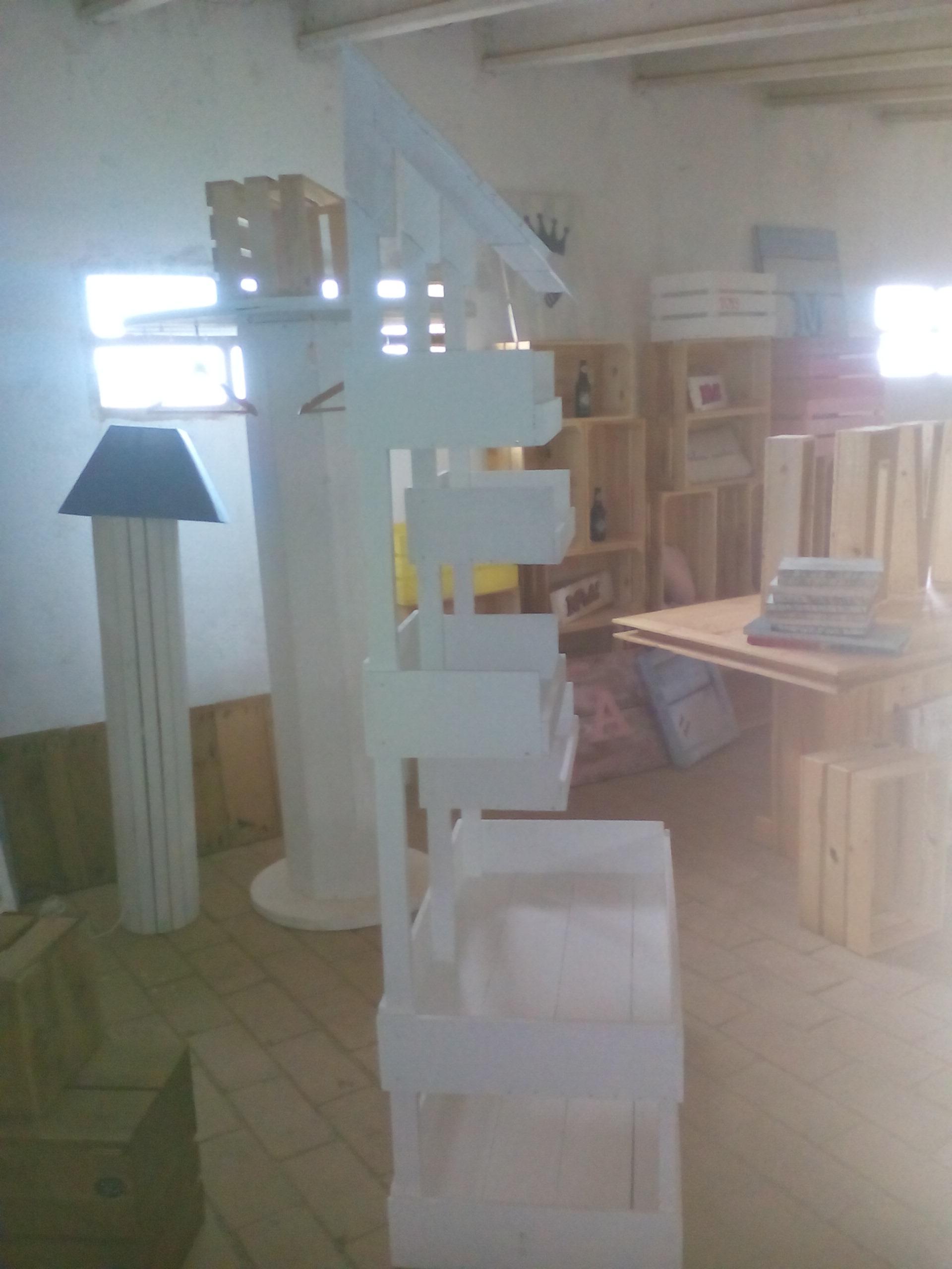 Lateral mueble para panadería