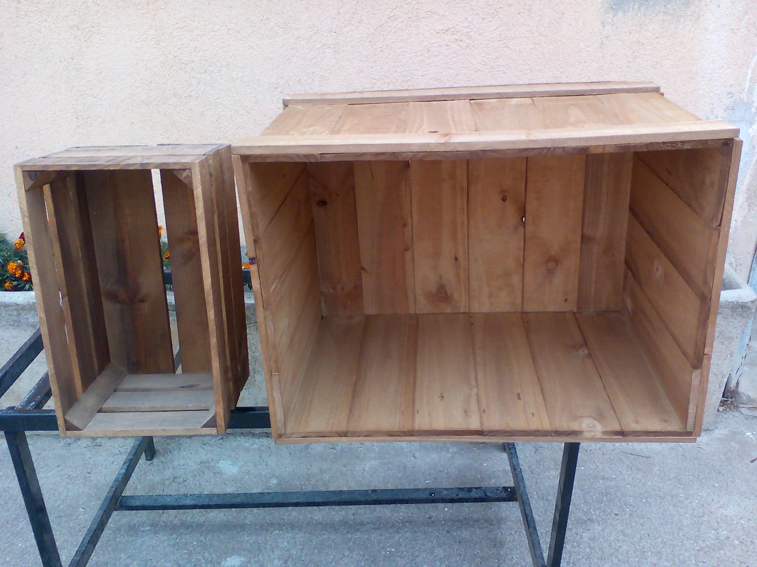 Cajas madera grandes