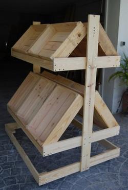 Mostrador cajas de frutas 1