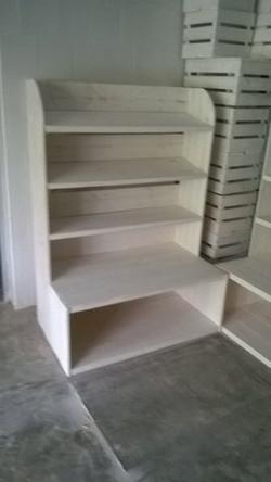 Librería base ancha 130cm