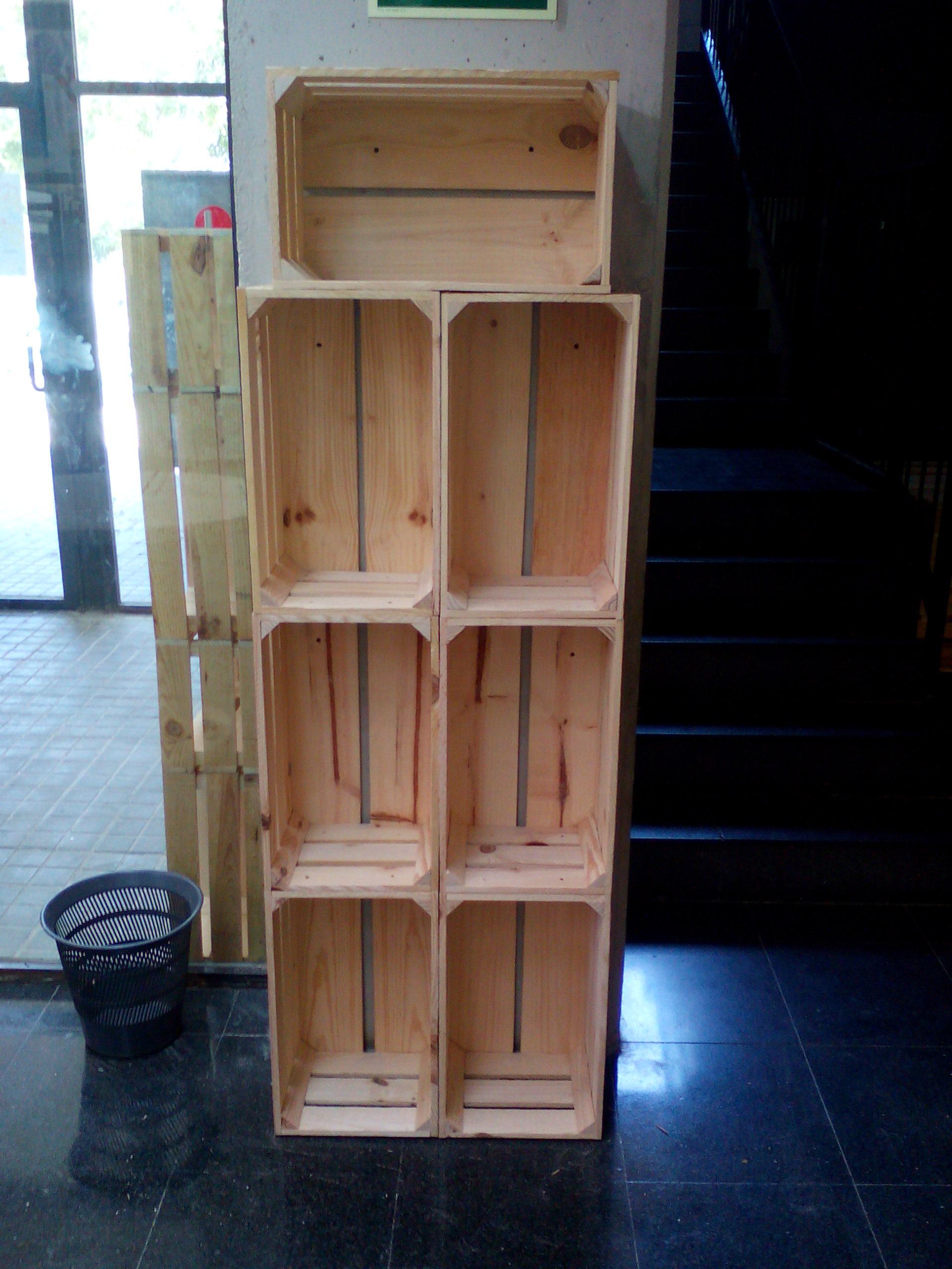 Forrado de columna con cajas