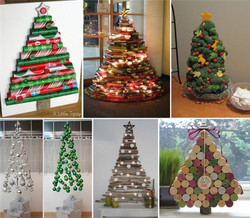 Diseños de árboles navideños