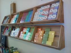 Estanterías inclinadas cajas palet