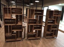 Columna cajas estantería