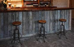 Barra de bar vintage