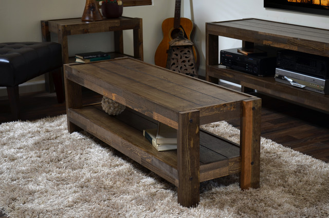 Mesa rustica sofá