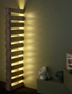 Lámpara vertical