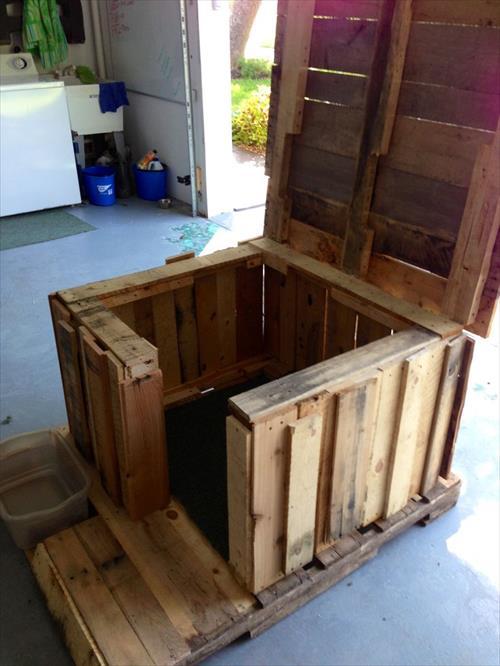 Casa-caja para perros