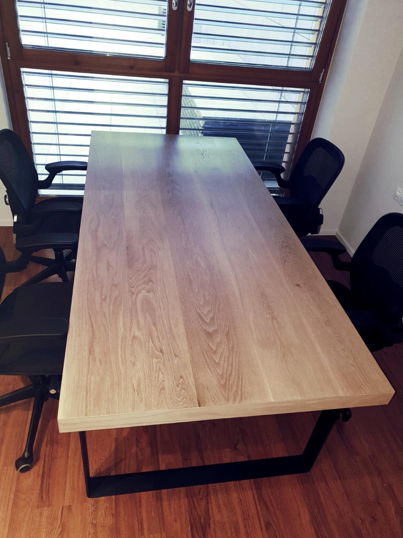 Mesa roble oficina