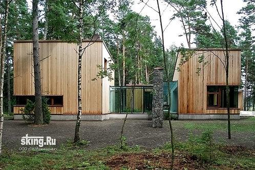 335 м2 Дом в стиле минимализма