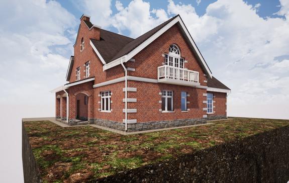 Проект кирпичного дома 390 - 1.png