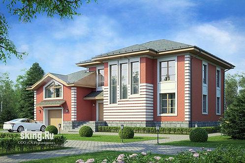 366 м2 Проект дома в современном европейском стиле