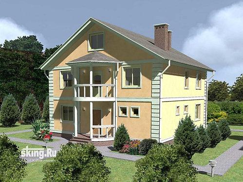 281 м2 Проект дома в современном стиле