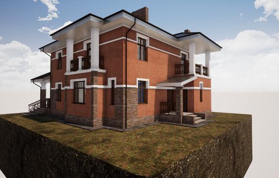 Проект кирпичного дома 235 - 2.png