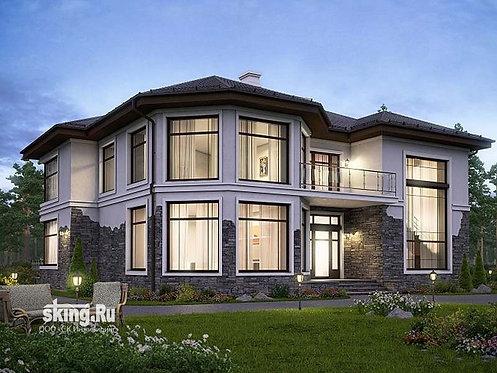 300 м2 Проект дома в современном стиле