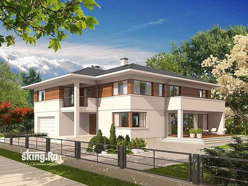 289 м2 Проект дома в современном стиле