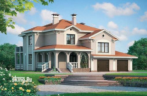 298 м2 Проект дома в современном стиле