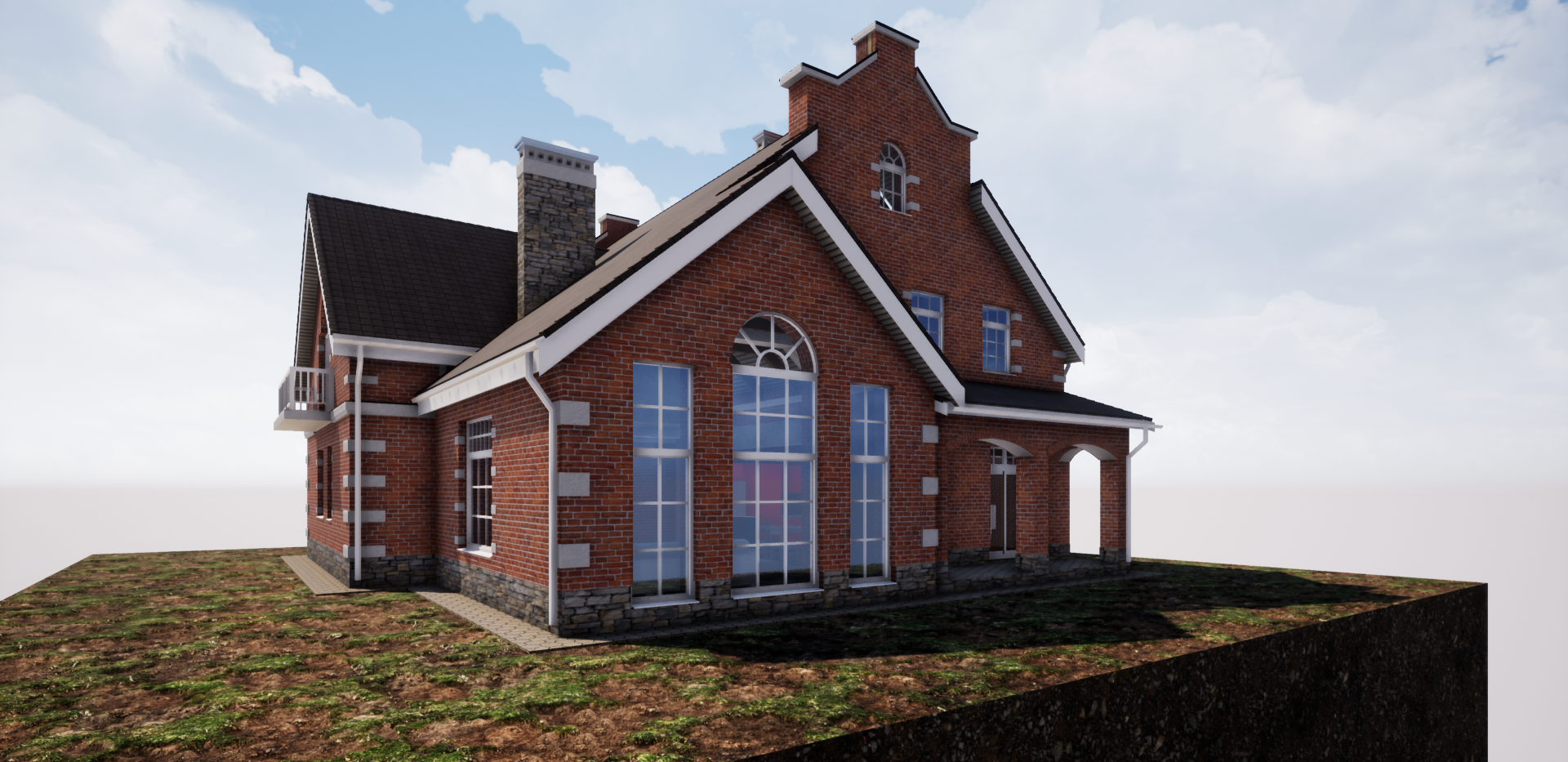 Проект кирпичного дома 390 - 2.png