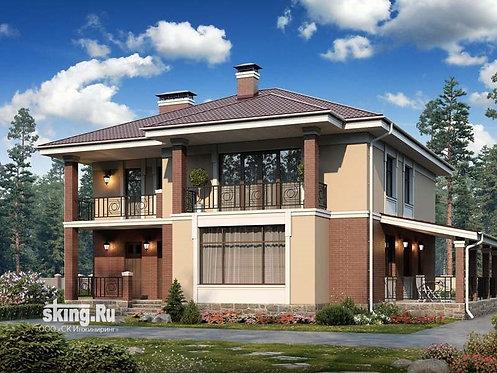 233 м2 Проект дома в современном стиле