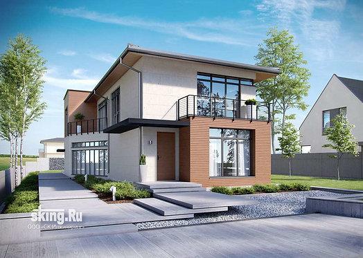 200 m2 High-tech design