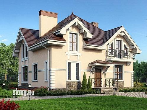 223 м2 Проект дома в современном стиле