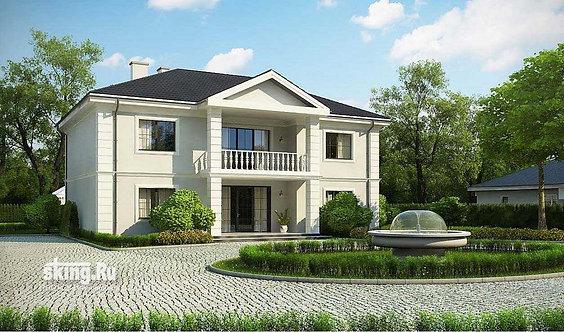 346 м2 Проект дома в современном стиле
