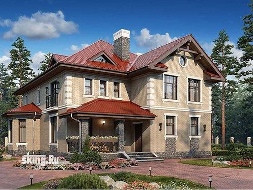 387 м2 Проект дома в современном европейском стиле