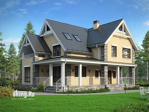 249 м2 Проект дома в современном стиле