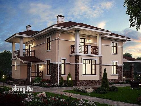 235 м2 Проект дома в современном стиле