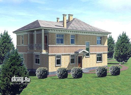 226 м2 Проект дома в современном стиле