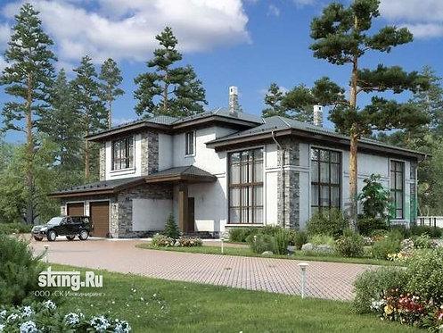 429 м2 Проект дома в современном стиле