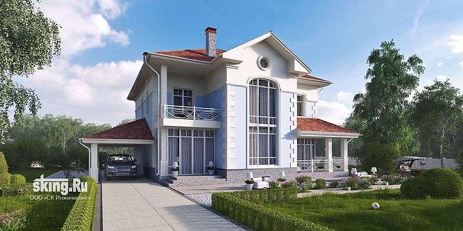 314 м2 Проект дома в современном стиле
