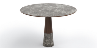 MADEIRA PORCELAIN DINING TABLE