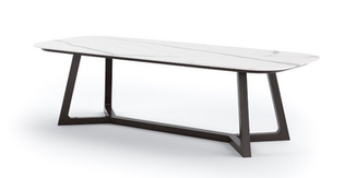 PERSEUS PORCELAIN DINING TABLE
