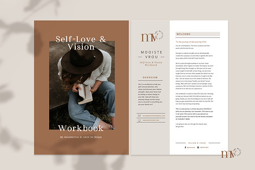 SELF-LOVE & VISION WORKBOOK PRINTABLE PDF