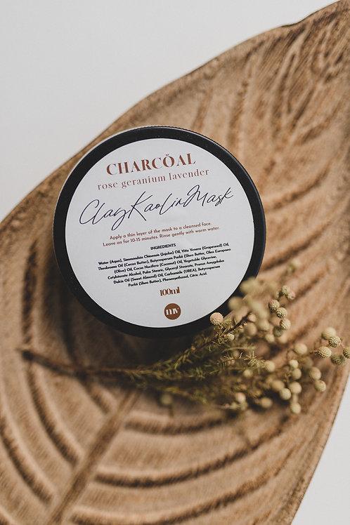 Charcoal Kaolin Clay Mask 100ml